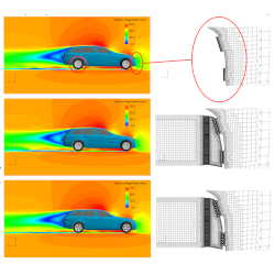 Find out more at: Simulation of Full Vehicle Active Aerodynamics